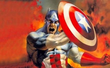 话说电影版复仇者联盟里的美国队长被削弱的差了,战斗力及低,而电
