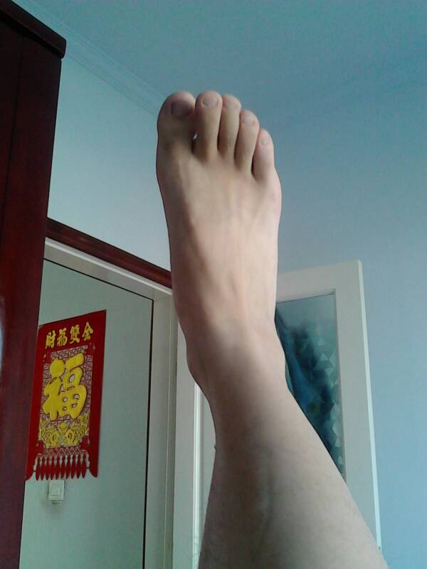 男人脚还是女人脚? 百度知道 竖