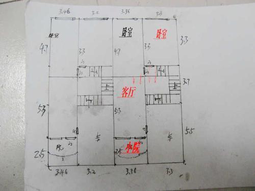求一个长13.7米宽10米的房屋设计图纸图片