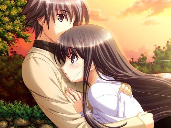 情人永抱的图片_卡通可爱浪漫童话世界里的情侣头像大全一对