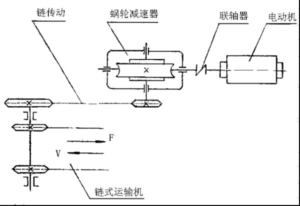 求一份课程设计别墅设计,机械F设计一链式吴江题目图片