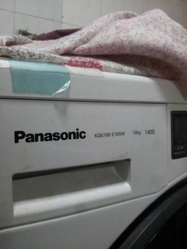 松下洗衣机XQG100-E10GW脱水不转怎么办?情况是这样的 今天...