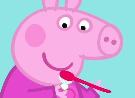 猪妈妈_她已经五岁了,与她的猪妈妈,猪爸爸,和弟弟乔治生活在一起.