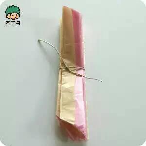 莲花纸元宝的折叠法