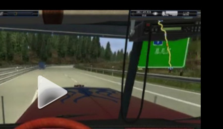 德国卡车模拟看别人的游戏视频怎么都是是中文路牌 而我的高清图片