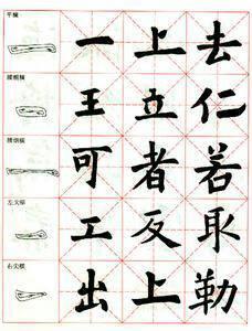 欧体基本笔画50讲 44 横折斜钩及 风 气 二字