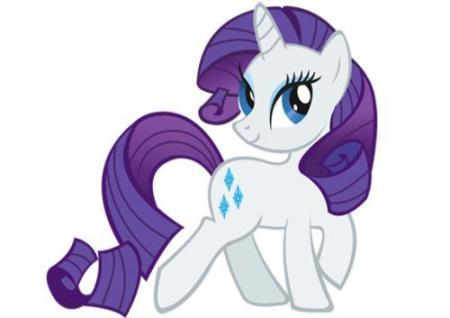 《彩虹小马》中白色的是谁?