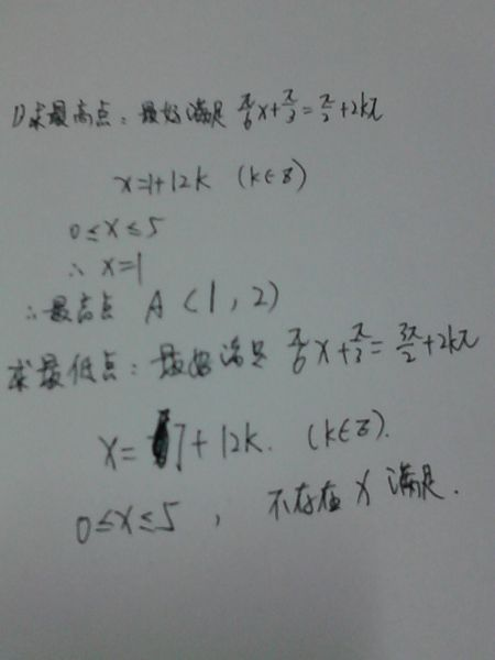 先锋影���$9.��b�9�*�f�x�_已知函数f(x)=2sin(πx/6 π/3)(0≤x≤5),点a,b分别是函数y=f(x)图像