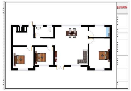 农村自建房钢筋布置问题,4米乘5米房间不要梁,应该用什么样的钢筋?图片