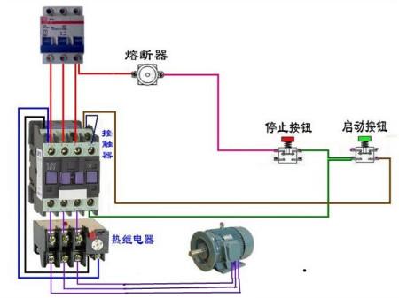 电动机控制电路10 电工们 看看吧 最常见电路 你看懂几个 图片