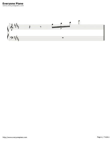 亡灵序曲钢琴双手简谱图片