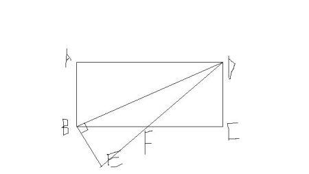 矩形acd中ad=8a=4