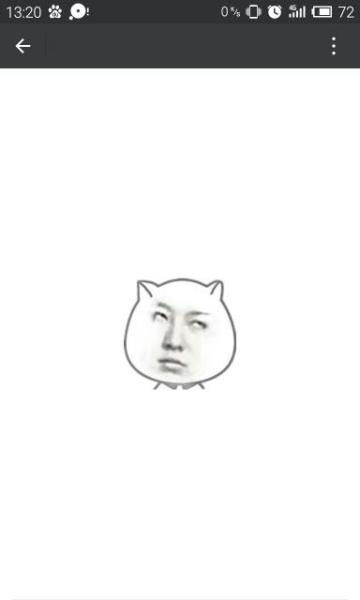 人脸猥琐猫表情包意思分享展示图片图片