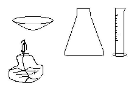 实验室用氯化钠_以下是化学实验室常用的仪器请用以上仪器的名称填空