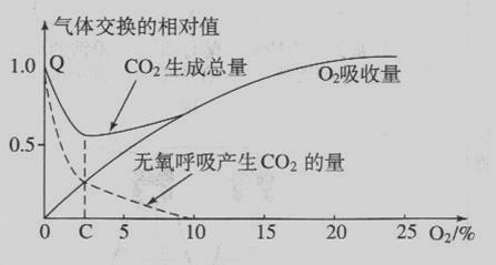 老太太剹�n��)�.�_二氧化碳总释放量最低一定是无氧呼吸和有氧呼吸相等.