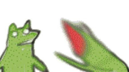 求这个抓狂小青蛙的表情包图片图片