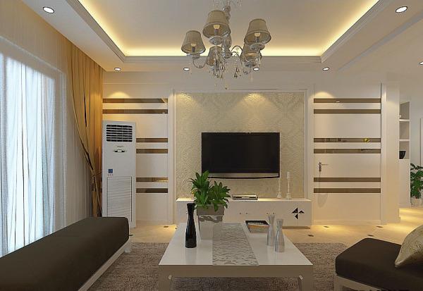 装修电视背景墙( 带隐形门)的设计图片
